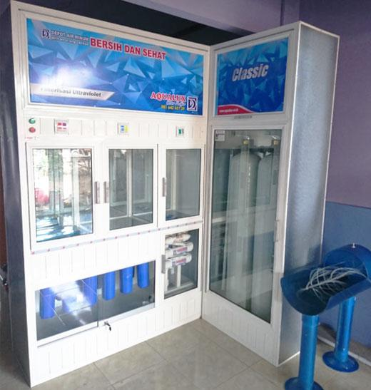depot air minum biru