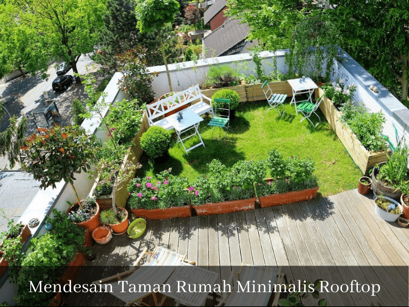 Mendesain Taman Rumah Minimalis Atap sinan-arsitek.com