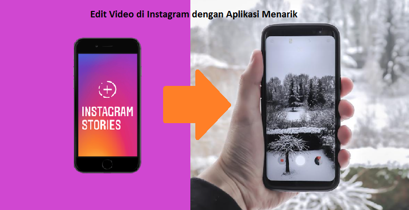 edit video di instagram
