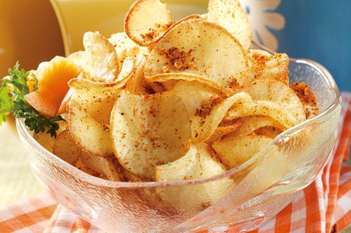 cara membuat keripik singkong pedas manis