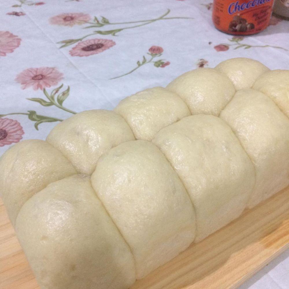 Cara Membuat Roti Sobek Kukus
