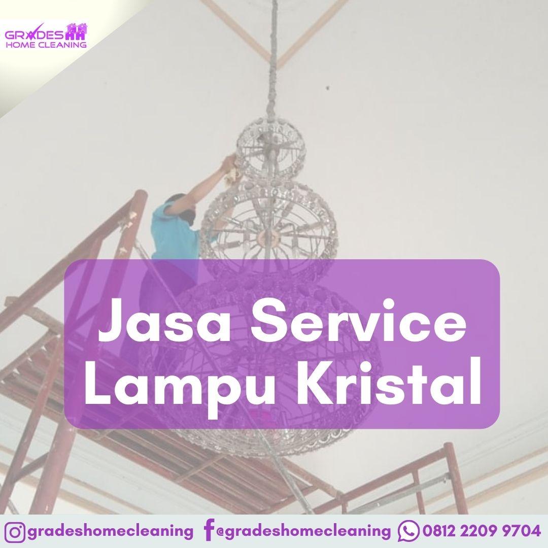 service lampu kristal